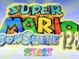 SUPER MARIO SUNSHINE 128 GAME